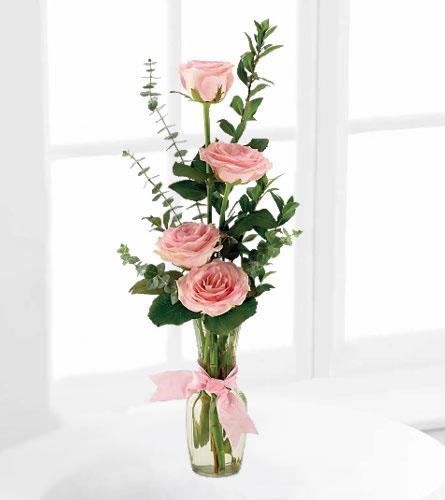 Rose Quartet Vase